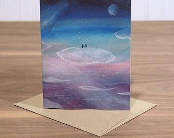 Dream Lovers - blank notecard
