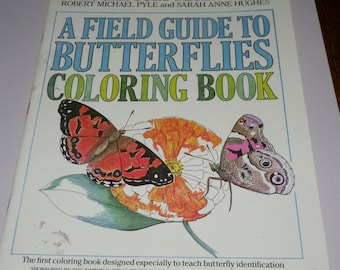 Coloring Book, Roger Tory Peterson Field Guide to Butterflies