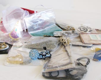Jewelry Making Grab Bag, Craft Making Grab Bag, Mystery Grab Bag, Bulk Jewelry Supplies- Grab Bag 9