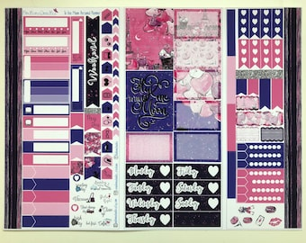 To the Moon Personal Planner Sticker Kit: