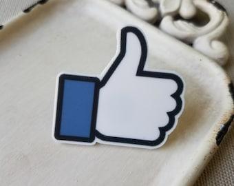 Facebook, Facebook like, Facebook pin, Facebook accessories