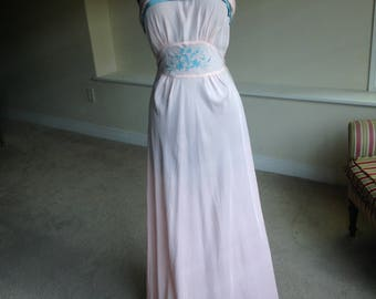 Bias Cut Gown Dress 1930