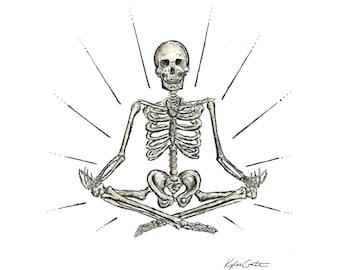 Yoga Skeleton