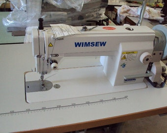 New Wimsew 111-LC Industrial Sewing Machine Complete