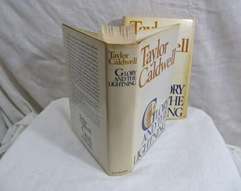 Glory and the Lightning by Taylor Caldwell  Published by Doubleday & Company 1974 BCE Hardcover w/Dust Jacket Persia Greece Athens Romance