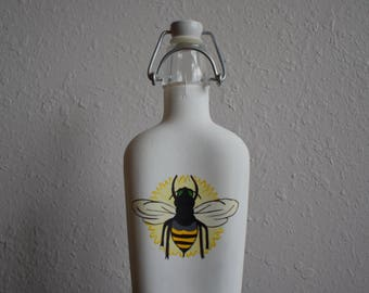 Bee Nice Painted Bottle