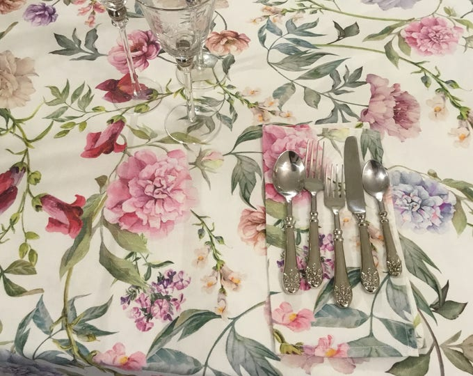 Tablecloth Shabby flowers