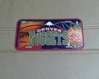 Denver Nuggets License Plate