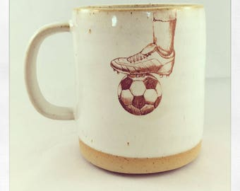 Kick it Soccer Ball Mug