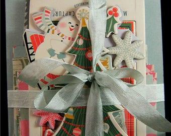 Album Kit JOLLY Christmas Chipboard