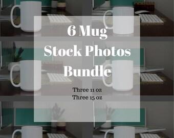 Stock Photo Bundle - Coffee Mug Photo - Styled Stock Photography - Social Media Images - Mug Styled Stock - Stock Product Photo