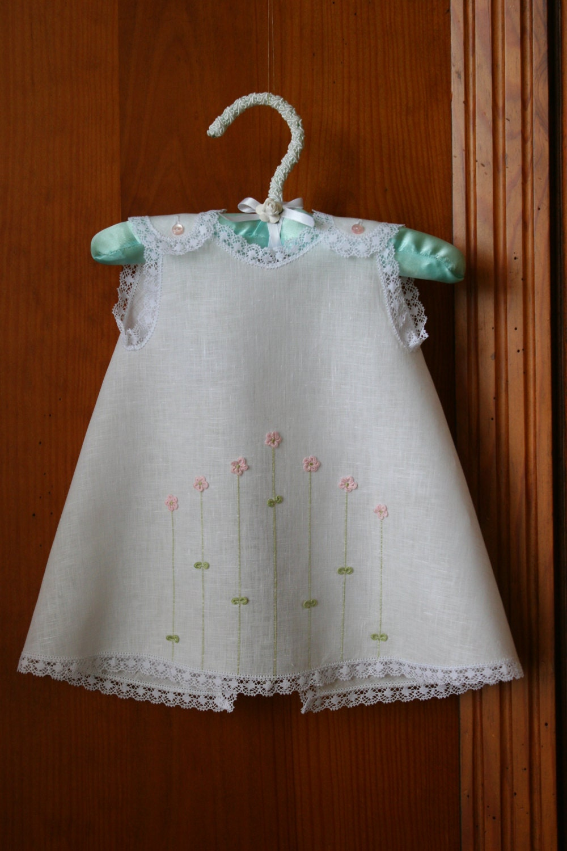 3 D Flowery Diaper Dress For Baby Girl 0 3 Months Preemie