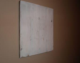 Distressed White Pallet Wood Canvas, Blank Pallet sign, DIY Wood Sign, Crafting, String Art, DIY sign canvas, Distressed Wood Canvas