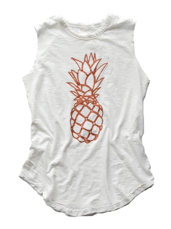 Pineapple Sleeveless Tee