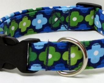 I've Got Da Blues.......Handmade Dog Collar