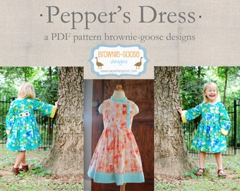 BG Originals Pepper's Dress pdf pattern