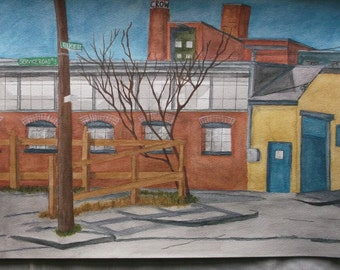 Watercolor Paintings, very detailed in color and imagery