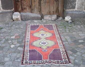 Turkish Rug    Oushak Rug Muted Color Rug  Cappadocia Rug Pink Rug Runner Rug Anatolian Rug Carpet