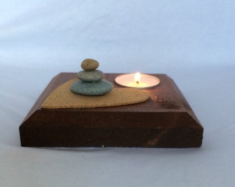 Heart stones tealighter (item 22)