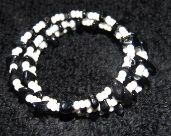 Gemstone & Seed Bead Bracelets