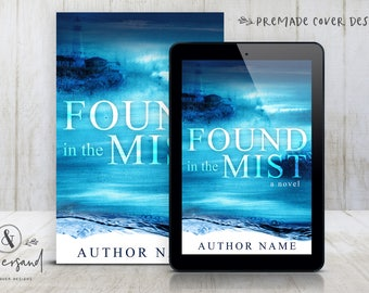 "Premade Digital eBook Book Cover Design ""Found In The Mist"" Thriller Mystery Suspense New Adult Literary General Fiction"