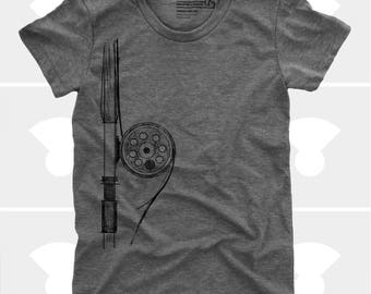 Fly Fishing Rod - Women Shirt