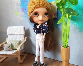 Blythe outfit - skirt  set by Pomipomari