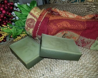 Butter & Clay Facial Cleansing Bar, French Green Clay, Cleansing Bar, Facial Soap, Face Soap, Cleansing Soap, Cleanser, Gift For Her