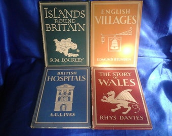 Collection of 4 Books from the 1940's