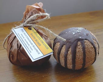 Chocolate Orange Bath Bomb