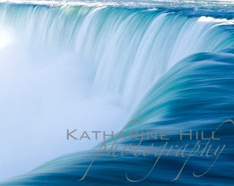 Horseshoe Falls, Niagara Falls Abstract, Ontario, Canada