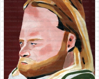 Nick Mangold, New York Jets Art Photo Print