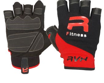 RVX Weight Lifting Gloves Exercise Fitness Workout Cycling Gym Training
