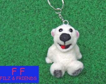 Polar bear, pendant, key ring FROSTBÄR