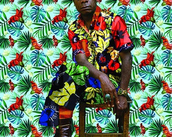 Blue James Baldwin 8x10 Print
