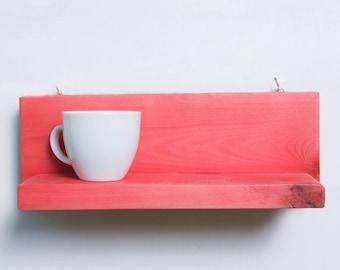 Handmade wooden  shelf