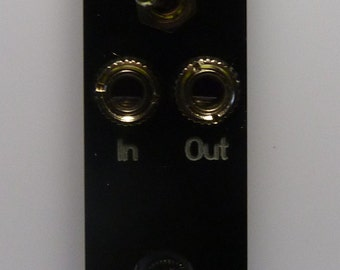 GLIDE2: Dual glide/portamento/slew limiter with range switch for Eurorack (4HP)