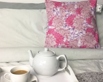 Dahlia Flower Pillowcase