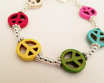 World Pride Peace Bracelet