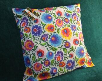 Beautiful traditional polish folk design cushion