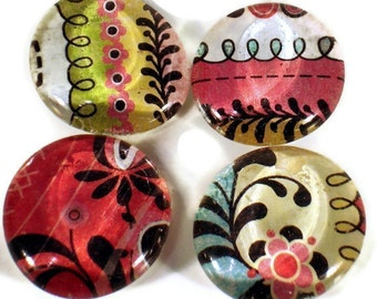 Refrigerator Magnets  Funky Magnets in  Urban Prairie (M11)