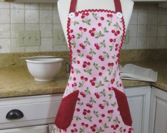 Womens Apron, Ladies Apron, Adult  Apron