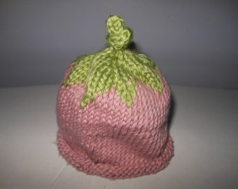 Knitted Infant or Toddler hat
