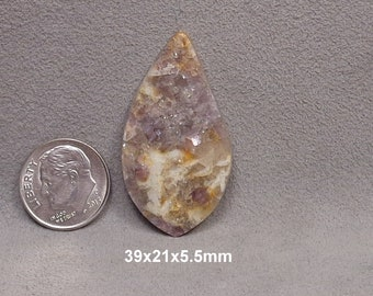 Lepidolite Mica Cabochon
