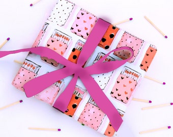 Wrapping Paper: Matches