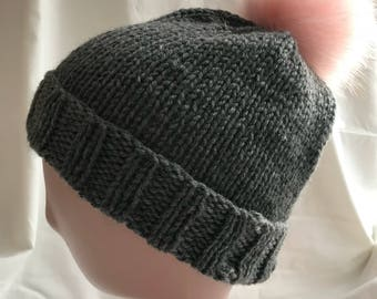Rolled Brim Touque