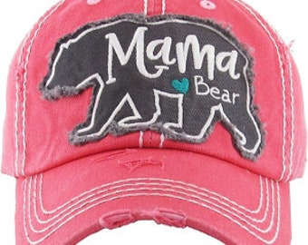 Mama Bear Red Hat