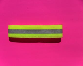 Velcro safety reflective armband Ribbon band