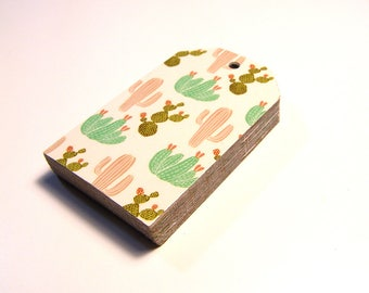 Cacti Gift Tag - Birthday, Baby Shower, Party