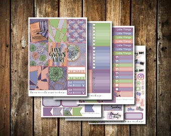 Love Grows Here // Weekly Planner Sticker Kit (170+ Stickers)